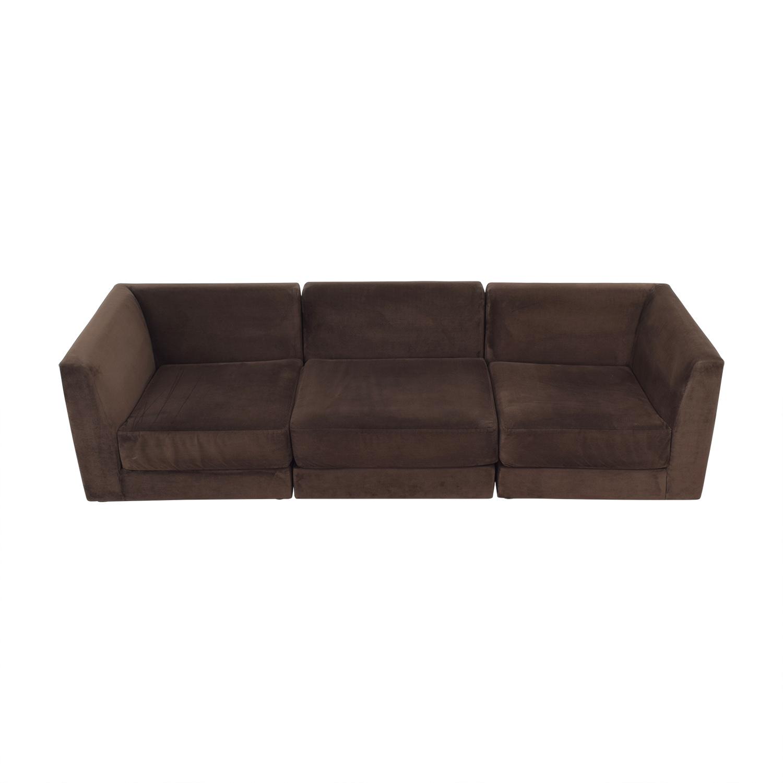 CB2 CB2 Three Piece Modular Sofa used
