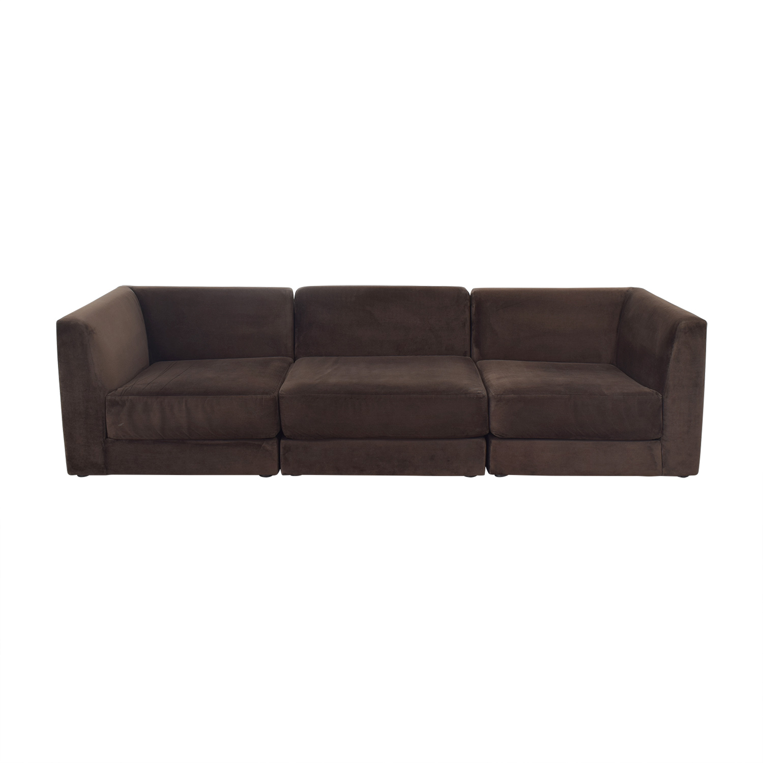CB2 CB2 Three Piece Modular Sofa used