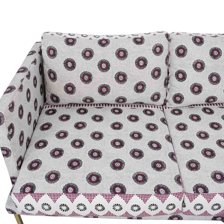 Anthropologie Linde Printed Sofa sale