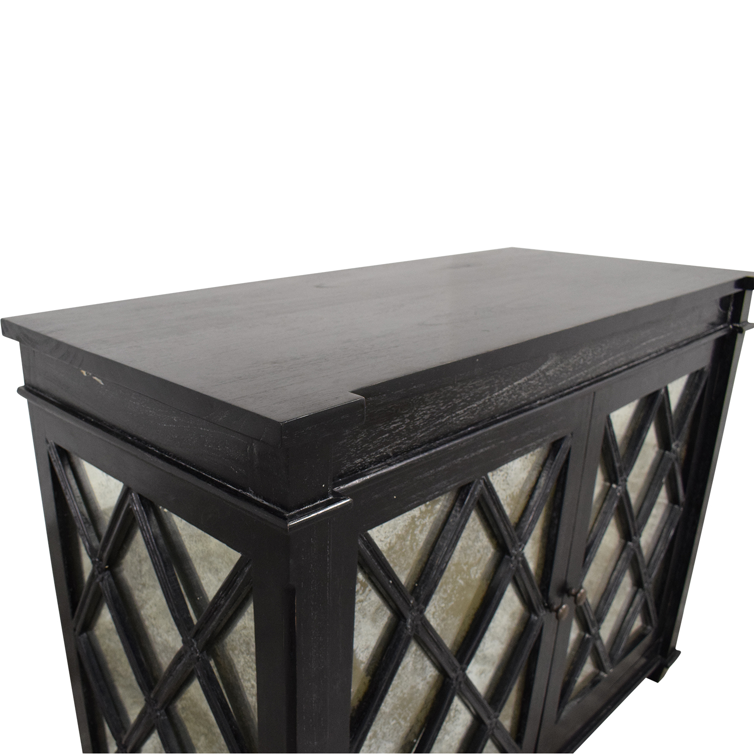 shop Noir Mirrored Cabinet Noir Storage