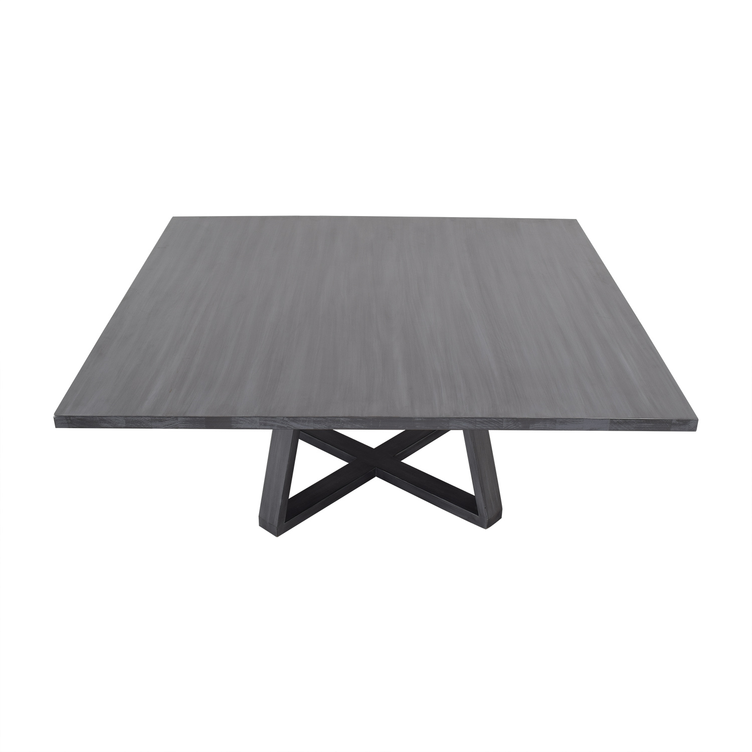 South Cone Furniture South Cone Furniture Andre Square Dining Table grey