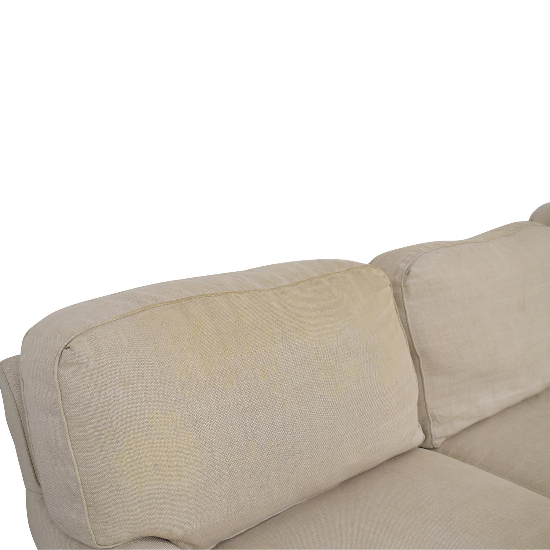 Restoration Hardware Restoration Hardware English Roll Arm Sofa nj