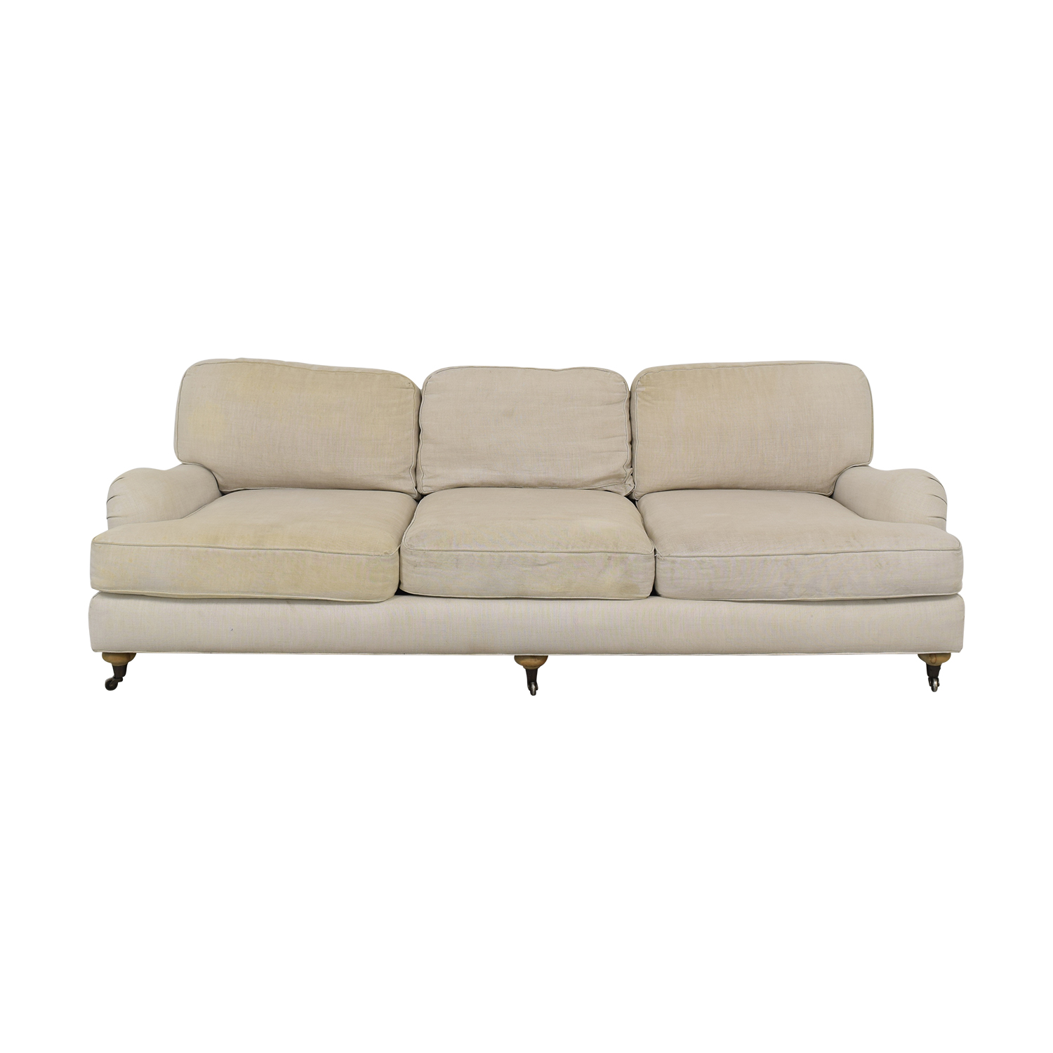 Restoration Hardware Restoration Hardware English Roll Arm Sofa price