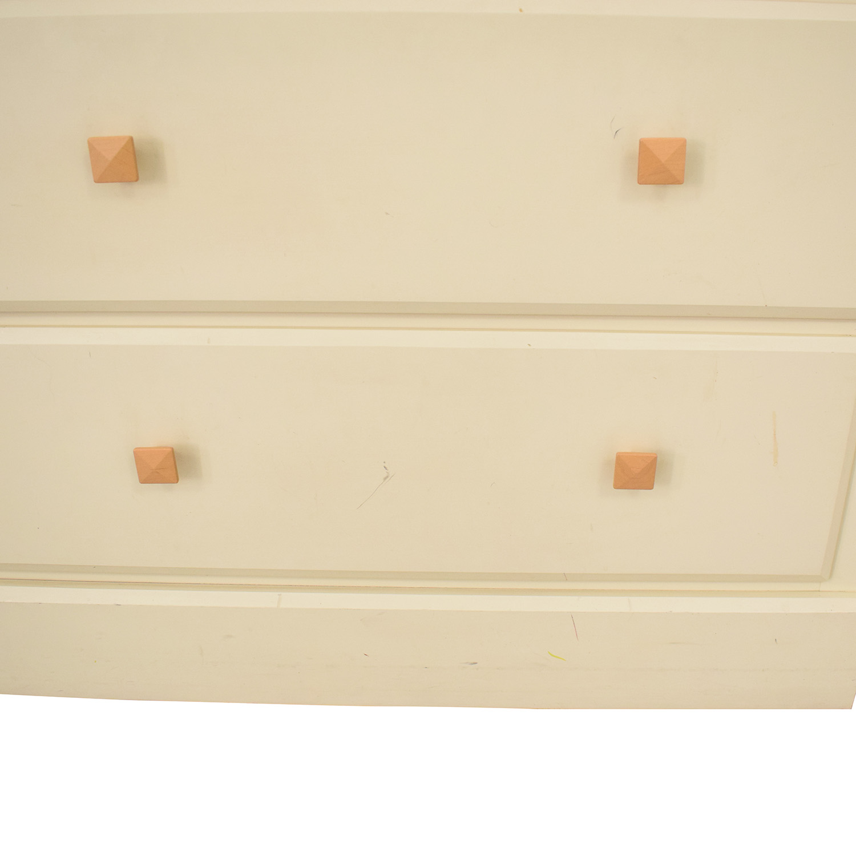 Ethan Allen Ethan Allen Bookcase and Dresser Combination brown & white