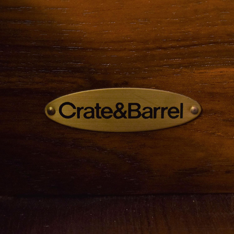 shop Crate & Barrel Bookcase and Credenza Crate & Barrel Bookcases & Shelving