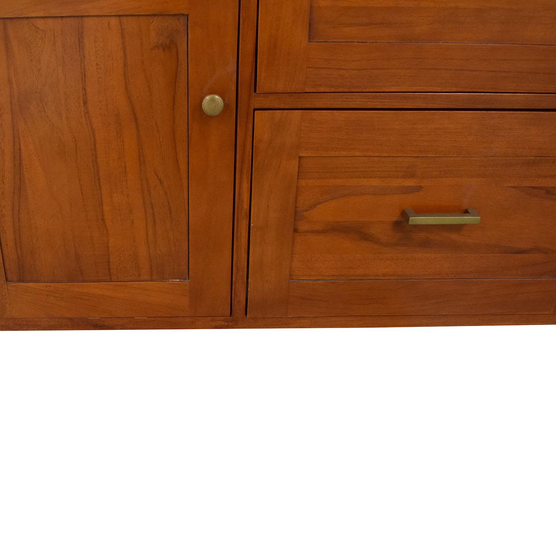 Crate & Barrel Bookcase and Credenza sale