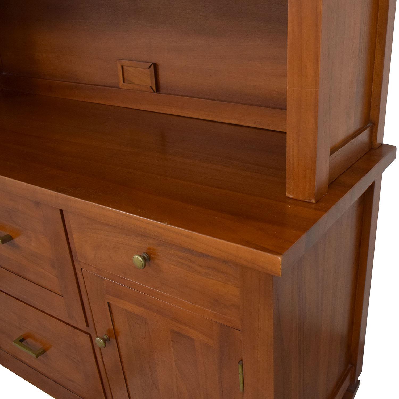 Crate & Barrel Crate & Barrel Bookcase and Credenza Storage