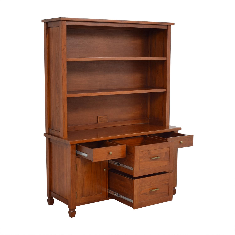 Crate & Barrel Bookcase and Credenza / Storage