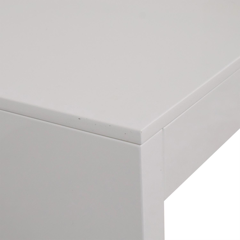 shop CB2 Runway Desk CB2 Tables