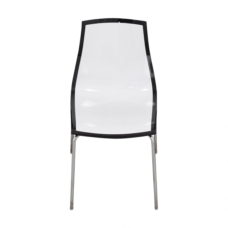 buy Bontempi Casa Lucite Desk Chair Bontempi Chairs