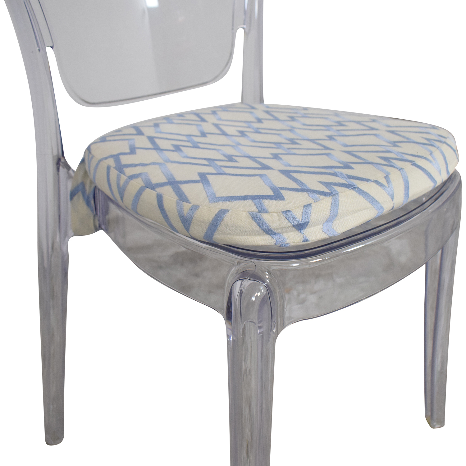 shop Lucite Upholstered Chair  Accent Chairs