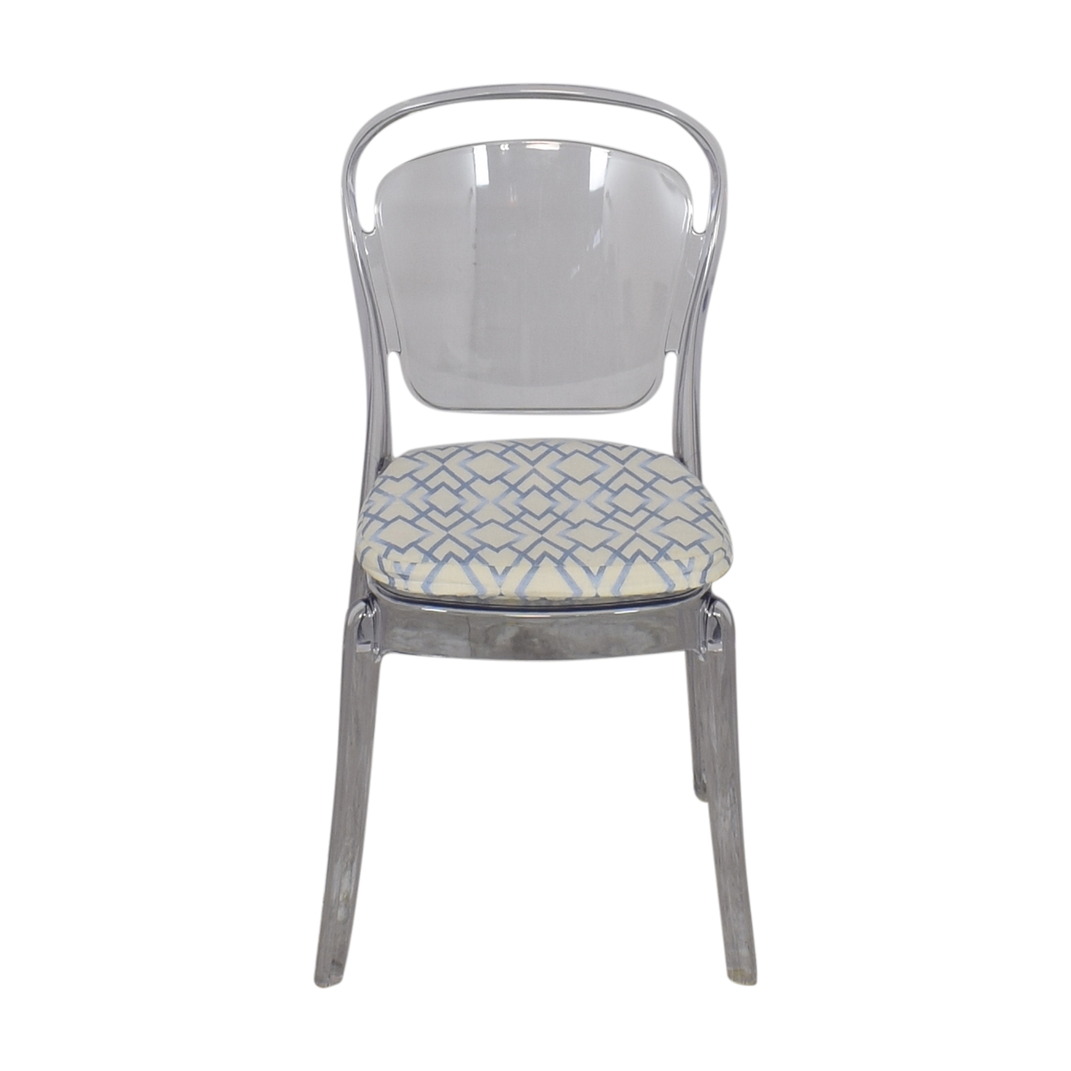 shop Lucite Upholstered Chair  Chairs
