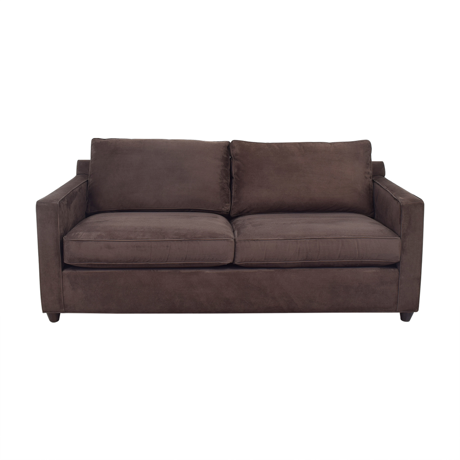 Crate & Barrel Crate & Barrel Two Cushion Sofa ma