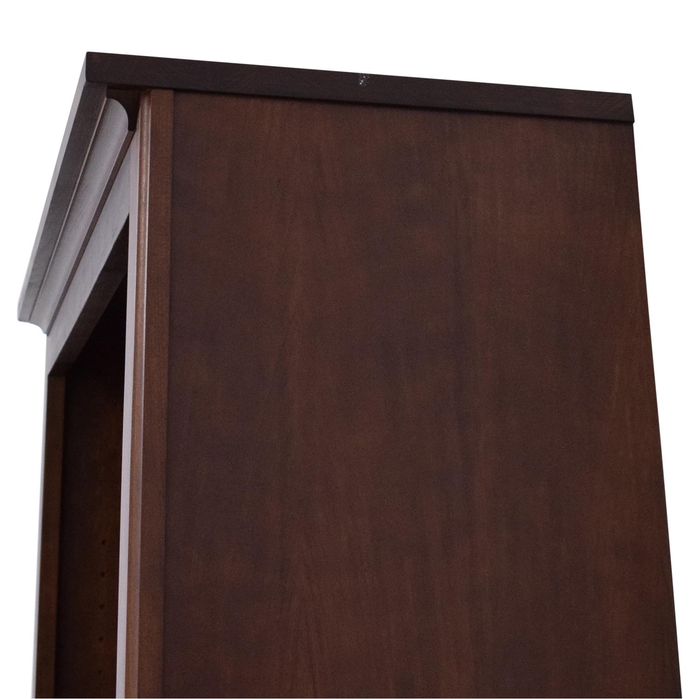 buy Crate & Barrel Crate & Barrel Veneer Bookshelf online