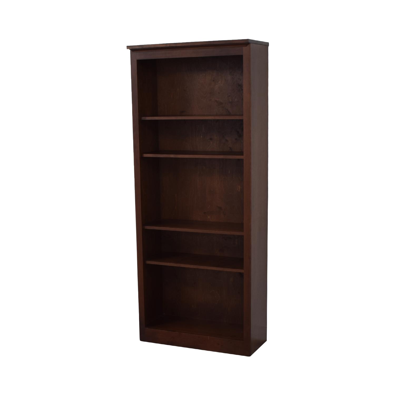 Crate & Barrel Crate & Barrel Veneer Bookshelf dimensions
