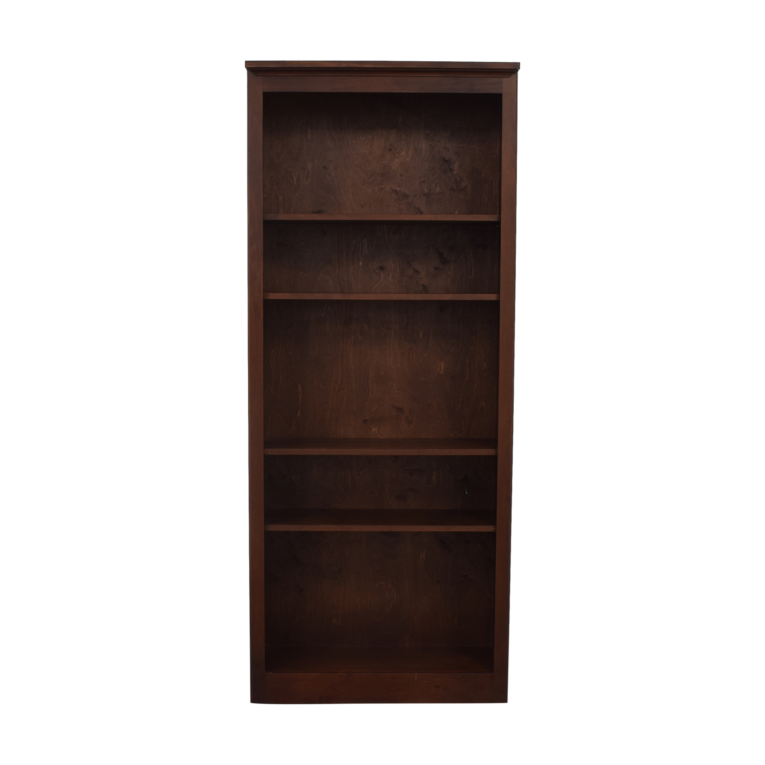 shop Crate & Barrel Veneer Bookshelf Crate & Barrel Storage