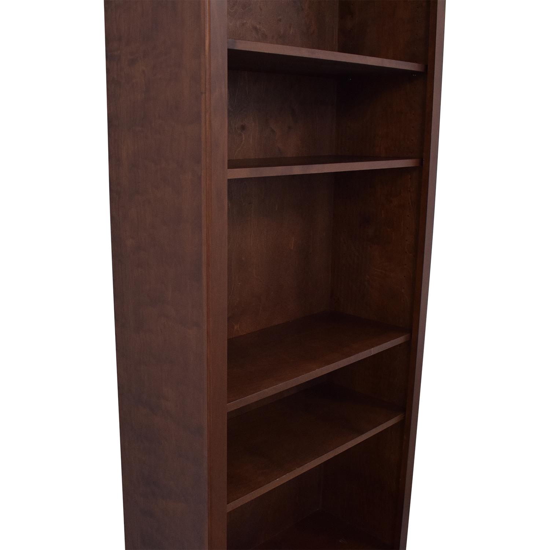 Crate & Barrel Veneer Bookshelf / Bookcases & Shelving