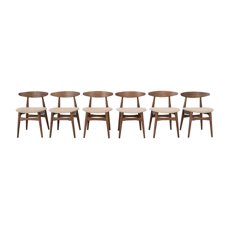 buy All Modern Mid Century Modern Dining Chairs AllModern Dining Chairs