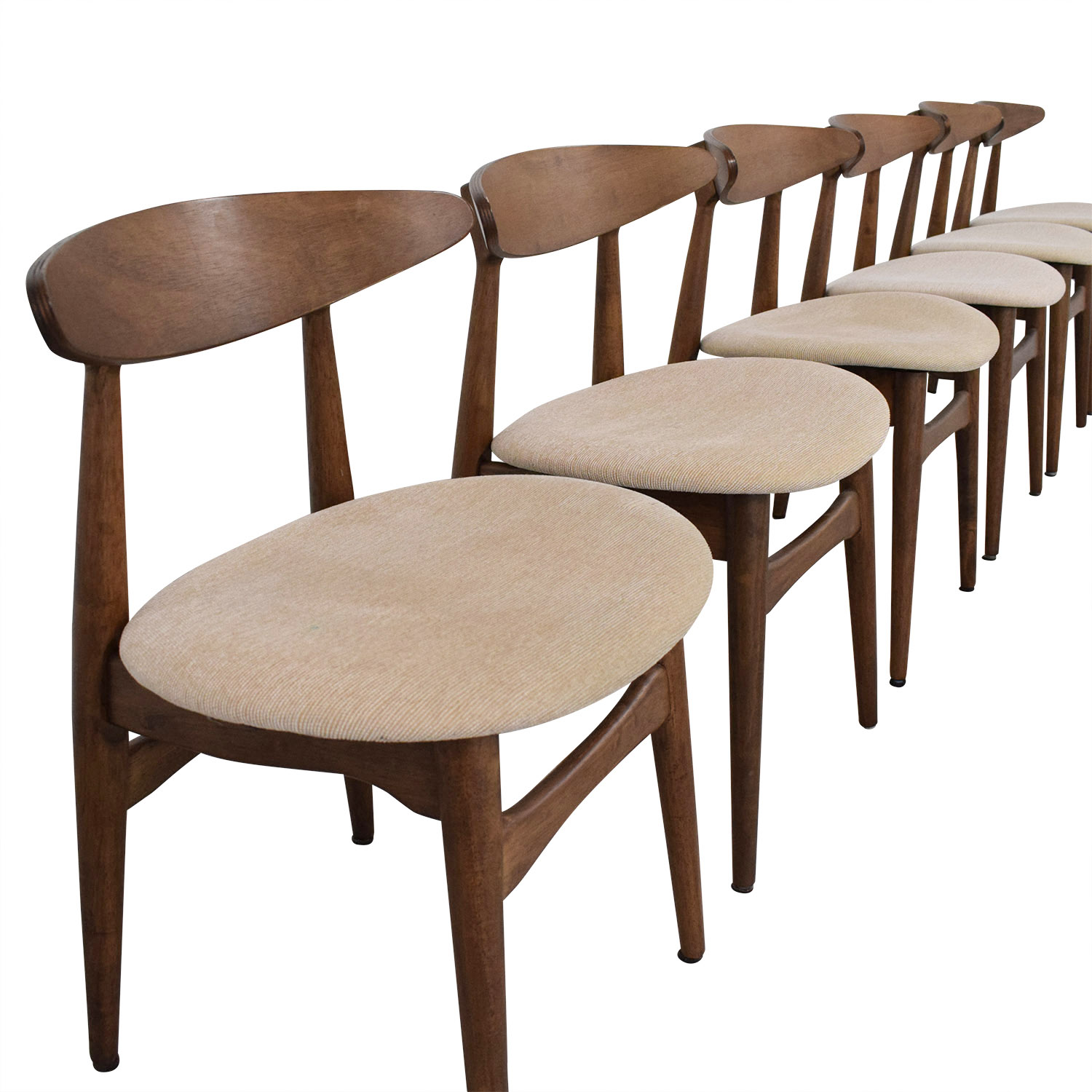 64% OFF - AllModern All Modern Mid Century Modern Dining Chairs ...