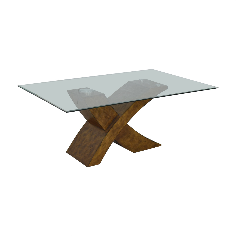 shop Orren Ellis Mid Century Modern Dining Table Orren Ellis Tables
