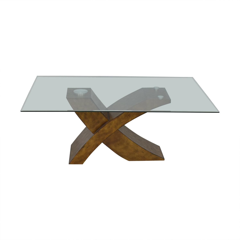 Orren Ellis Orren Ellis Mid Century Modern Dining Table nj
