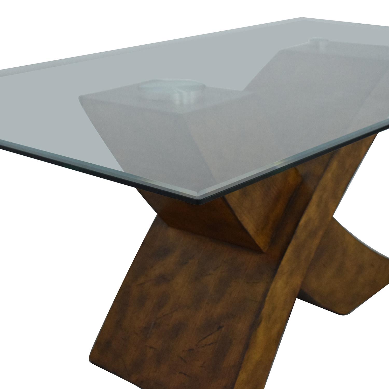 Orren Ellis Orren Ellis Mid Century Modern Dining Table on sale