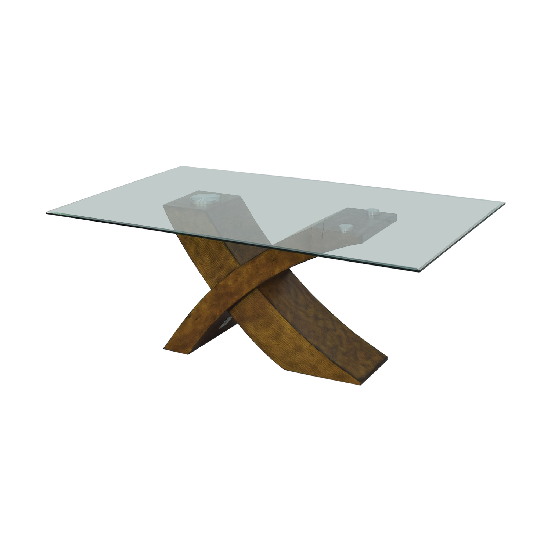 buy Orren Ellis Mid Century Modern Dining Table Orren Ellis Dinner Tables