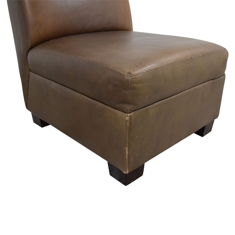Pottery Barn Pottery Barn Trevor Slipper Chair ct
