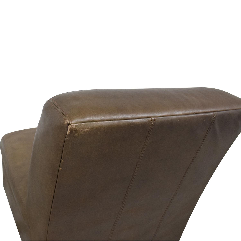 buy Pottery Barn Trevor Slipper Chair Pottery Barn Chairs