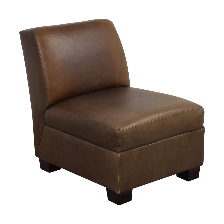 Pottery Barn Pottery Barn Trevor Slipper Chair used