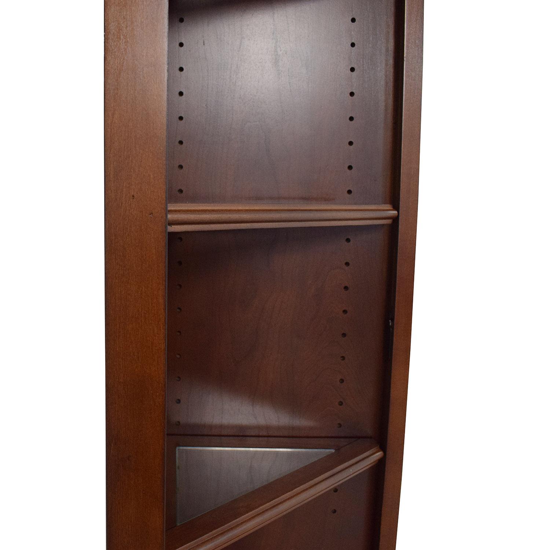 shop Hooker Corner Bookcase Hooker Furniture