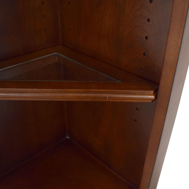 Hooker Furniture Hooker Corner Bookcase used