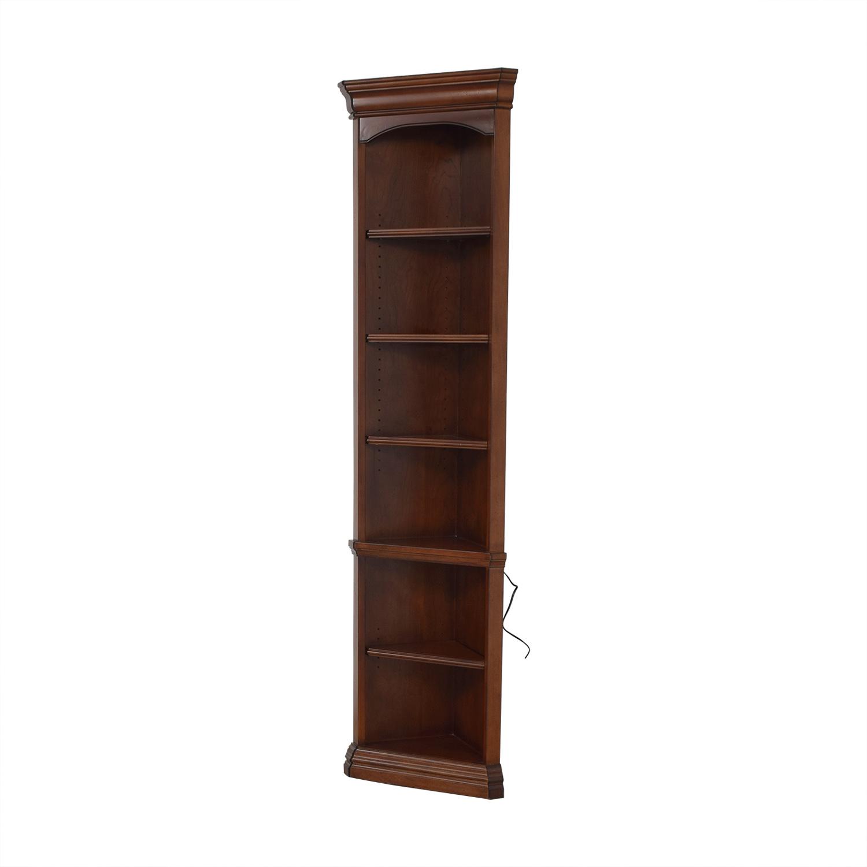 buy Hooker Corner Bookcase Hooker Furniture Bookcases & Shelving
