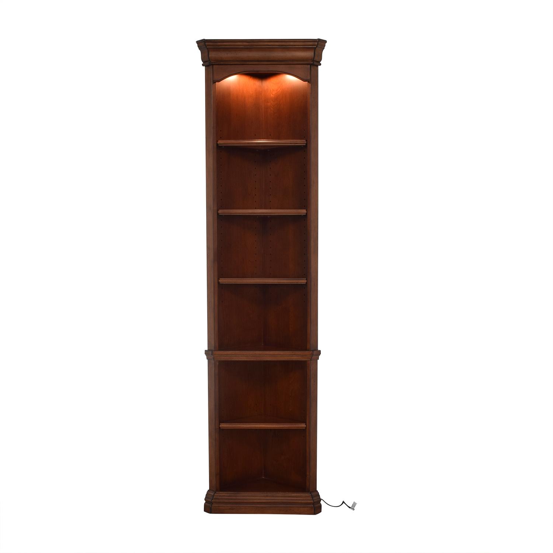 Hooker Furniture Hooker Corner Bookcase Storage