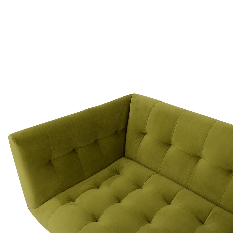 Kardiel Kardiel Edward Sofa Olive Green Velvet used