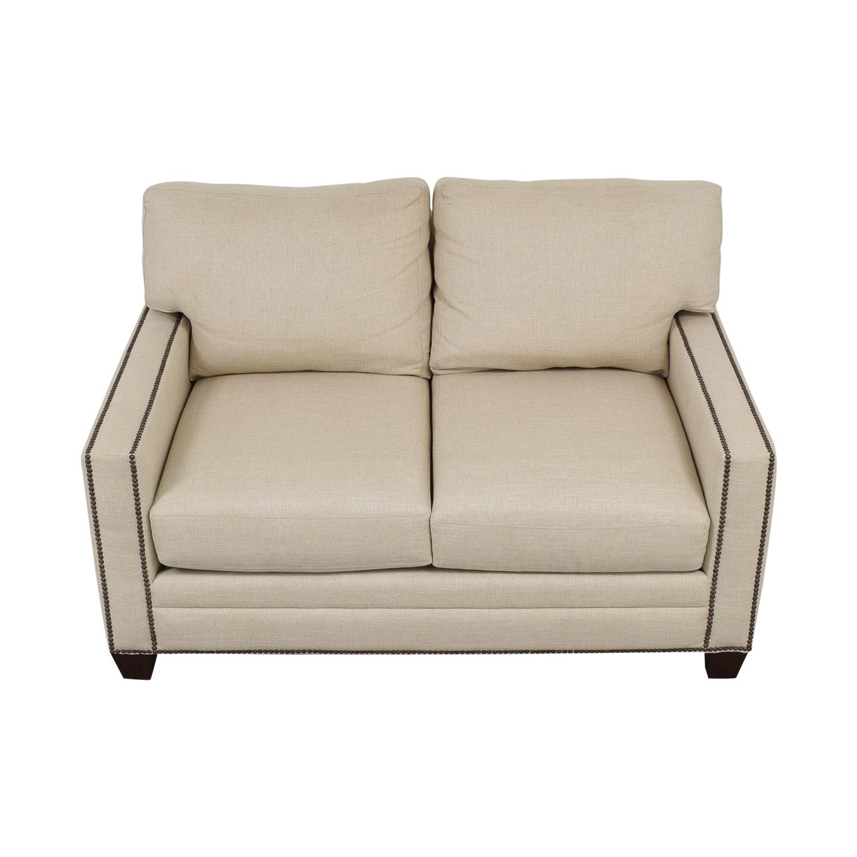 Bassett Furniture Bassett Ladson Loveseat beige