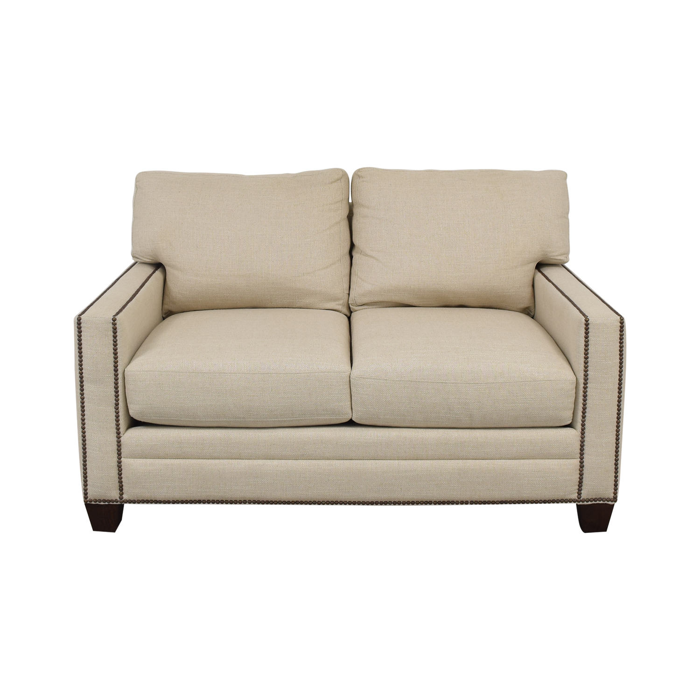 Bassett Furniture Bassett Ladson Loveseat ma