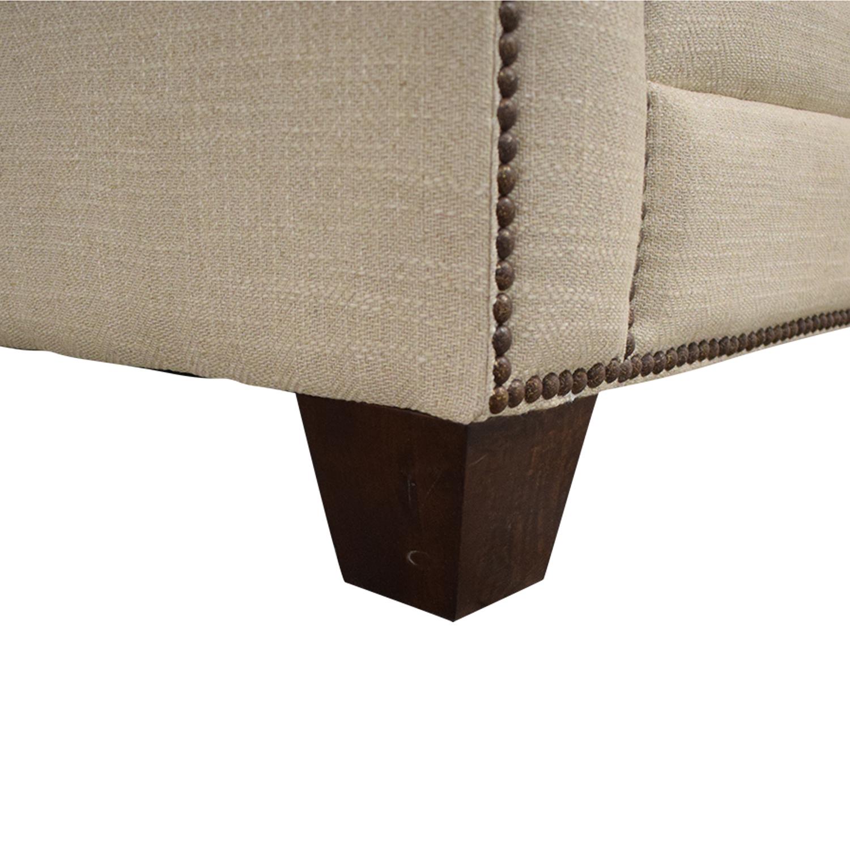 shop Bassett Ladson Loveseat Bassett Furniture Sofas