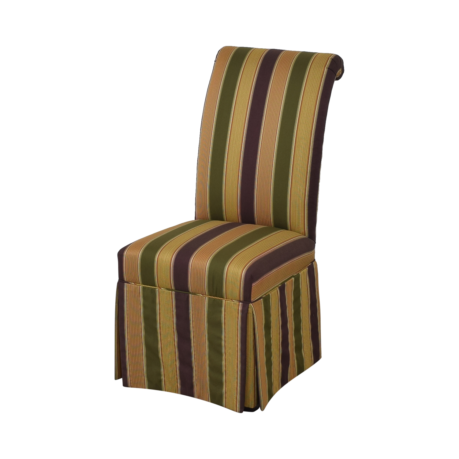 High Back Fabric Dining Chairs sale