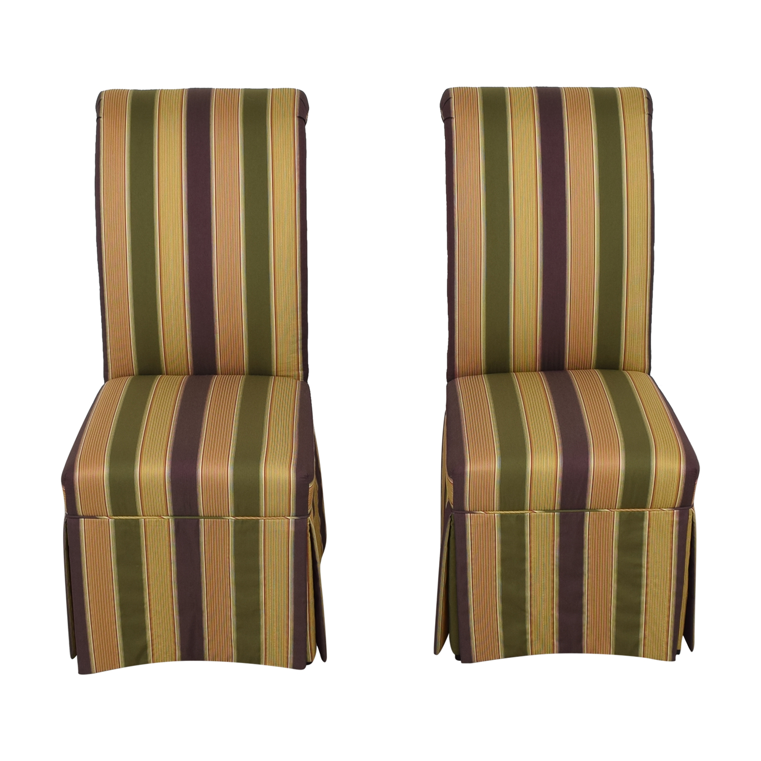 High Back Fabric Dining Chairs pa
