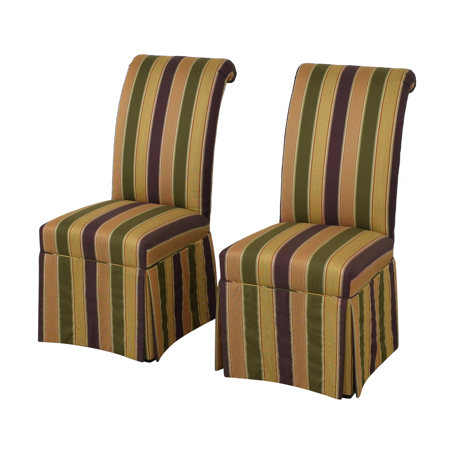 High Back Fabric Dining Chairs on sale