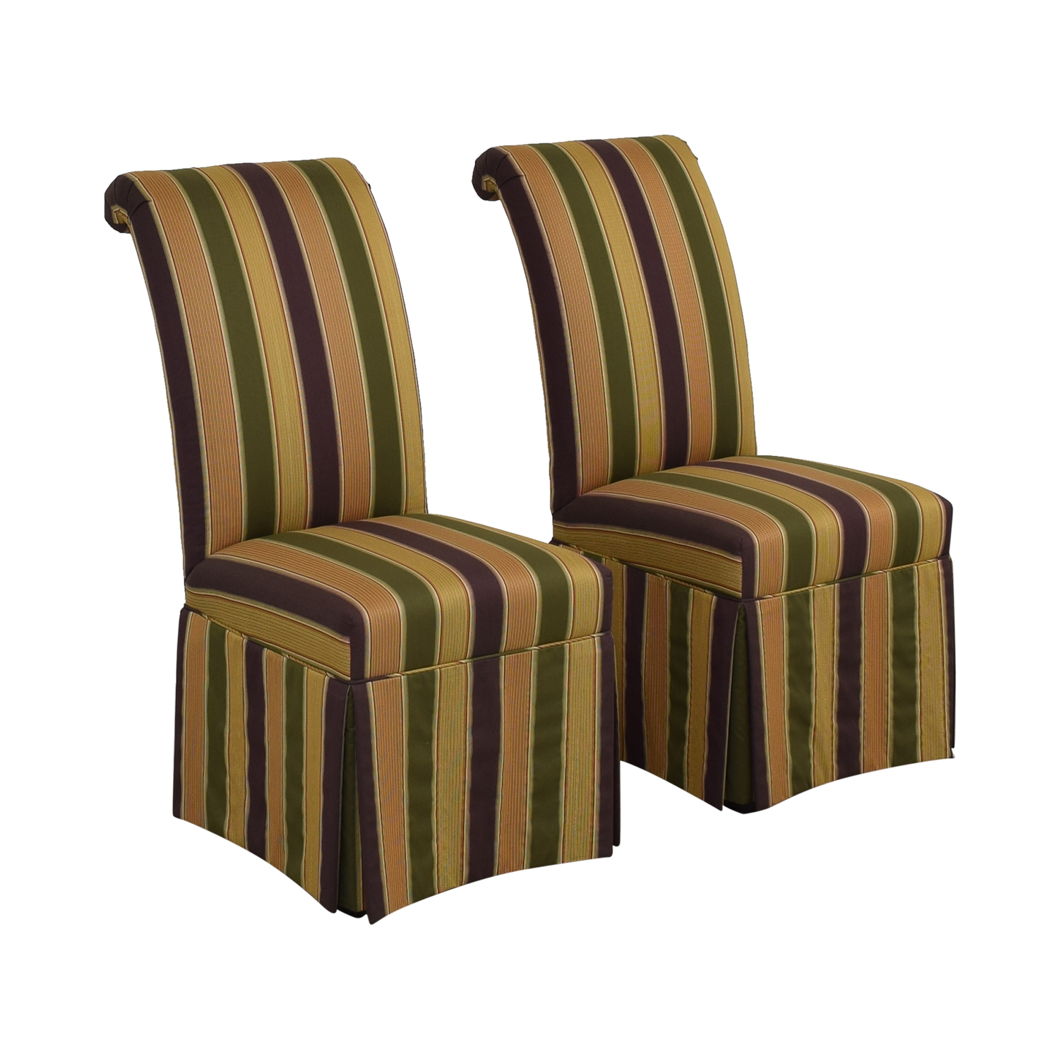 buy High Back Fabric Dining Chairs  Dining Chairs