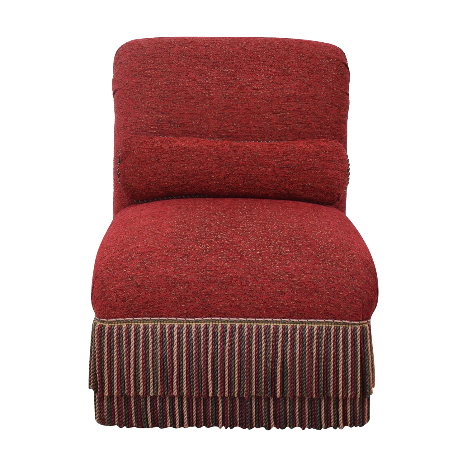 Upholstered Slipper Chair discount