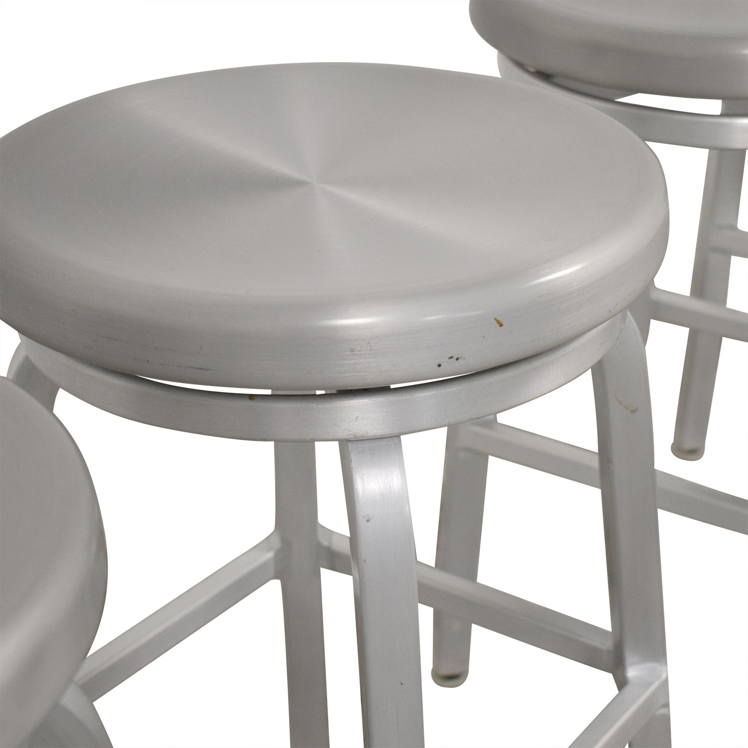 buy Crate & Barrel Crate & Barrel Spin Swivel Backless Counter Stool online