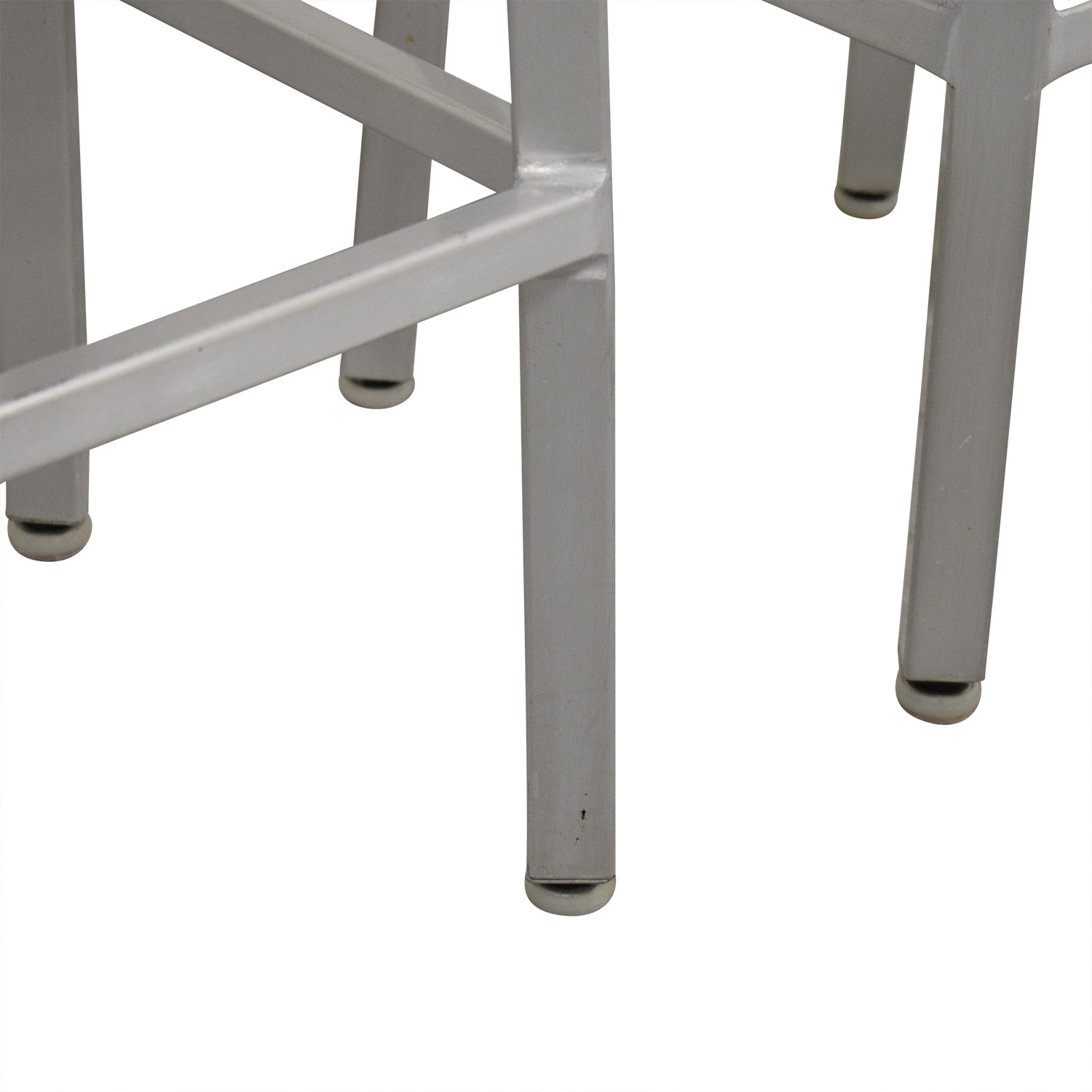 buy Crate & Barrel Spin Swivel Backless Counter Stool Crate & Barrel Chairs