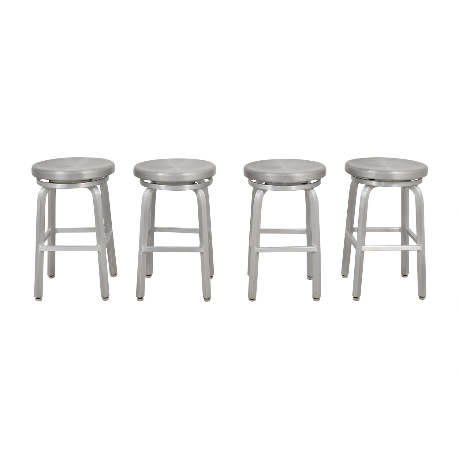 Remarkable 26 Off Crate Barrel Crate Barrel Spin Swivel Backless Counter Stool Chairs Pabps2019 Chair Design Images Pabps2019Com