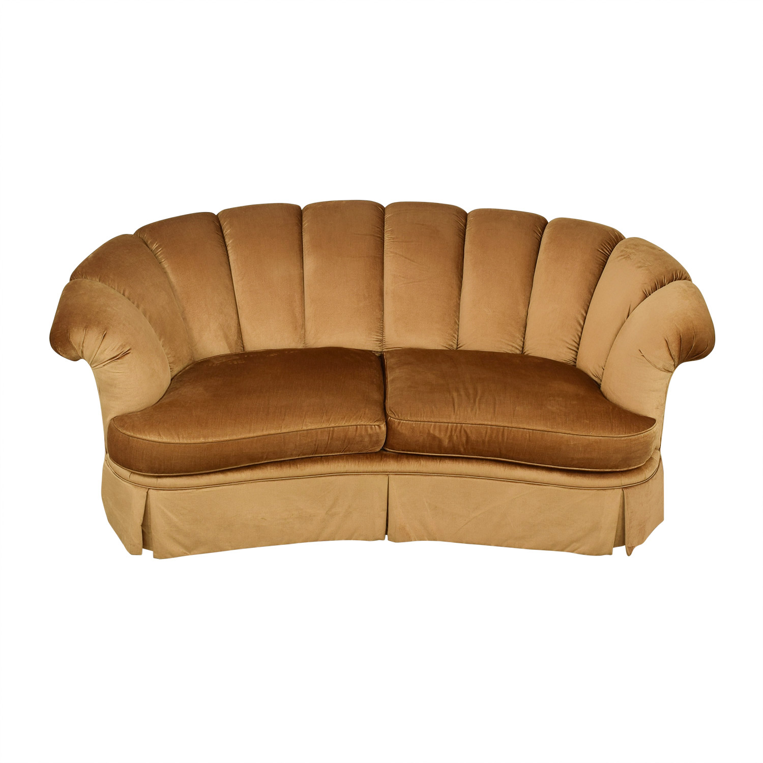 Highland House Furniture Highland House Scalloped Sofa coupon