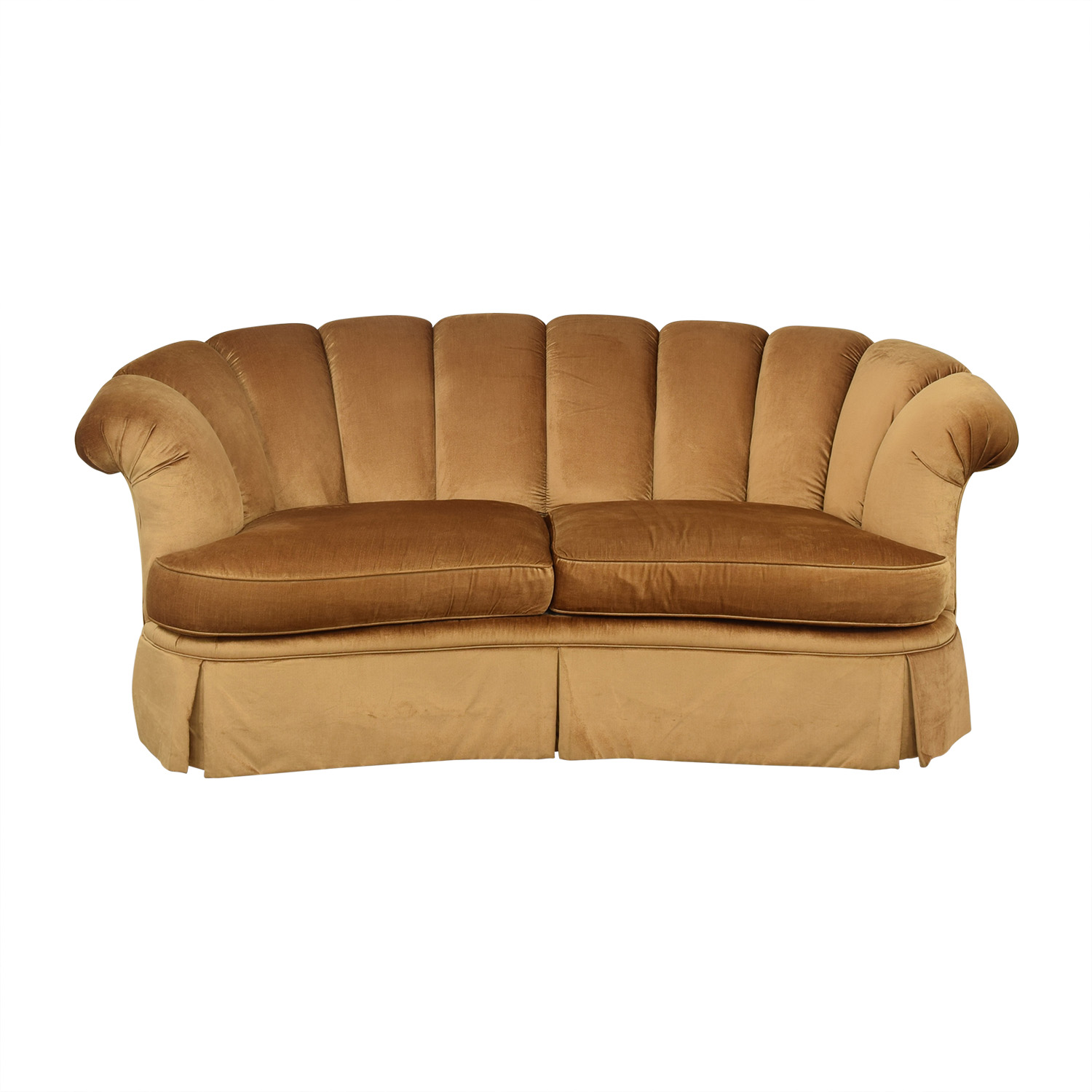 shop Highland House Scalloped Sofa Highland House Furniture Classic Sofas