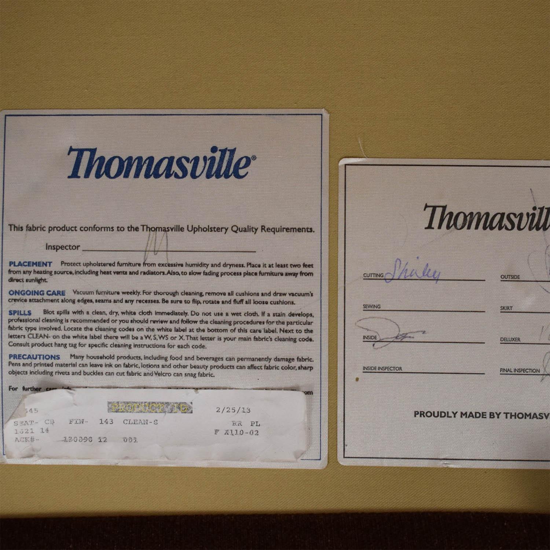Thomasville Thomasville Roll Arm Loveseat for sale