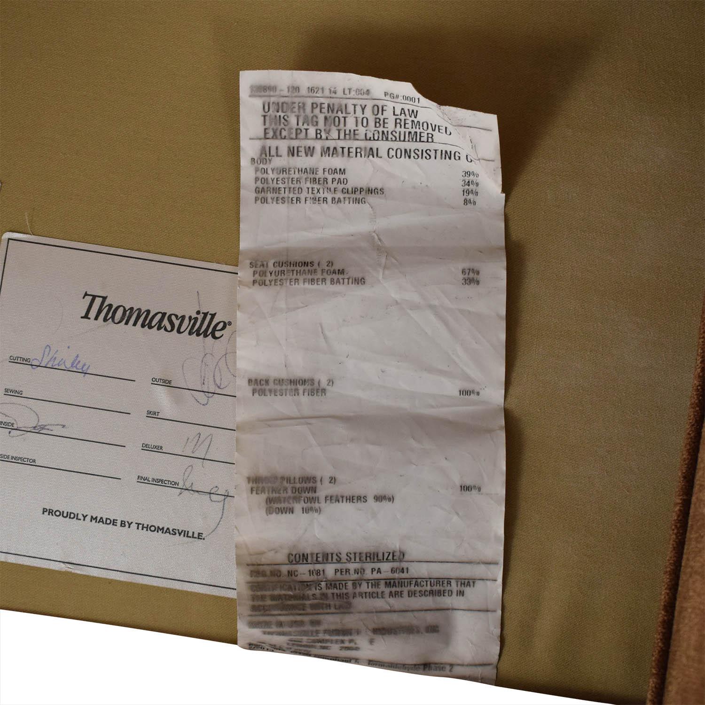 Thomasville Thomasville Roll Arm Loveseat Loveseats